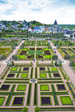 Gardens of the Chateau de Villandry, France Royalty Free Stock Image