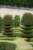 Gardens and Chateau de Villandry Royalty Free Stock Photography