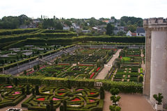 Gardens of Chateau Villandry B Stock Photography