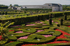 Gardens of Chateau Villandry D Royalty Free Stock Photography