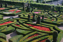 Gardens of Chateau Villandry G Royalty Free Stock Photo