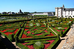 Gardens of Chateau Villandry J Stock Images