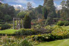 The Gardens at Cholmoneley. The gardens at Cholmondeley Castle were laid out about 200 years ago, in Cheshire, England Royalty Free Stock Photography