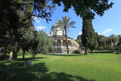 Gardens and Church of the Beatitudes, Israel Royalty Free Stock Images