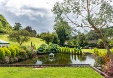 Gardens at Cockington Village Stock Image