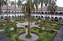 Gardens in Convento de San Francesco Stock Photo