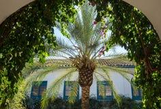 Gardens and courtyards in Palacio de Viana Cordoba Royalty Free Stock Photography
