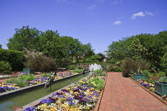Gardens - Daniel Stowe Botanical Gardens stock images
