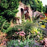 Gardens eltham palace medieval historic Royalty Free Stock Photography