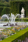 Gardens and fountains at Palace Versailles Stock Photos