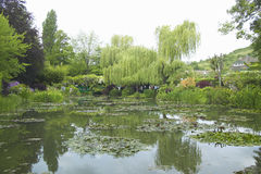 The Gardens at Giverny, France Royalty Free Stock Images