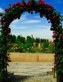 Gardens of Generalife Stock Photography