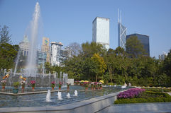 Gardens of Hong Kong Stock Photography