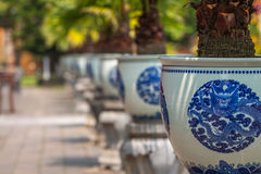 Gardens in Hue royalty free stock image