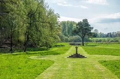 Gardens at Hutton in the Forest, Cumbria, England Royalty Free Stock Photo