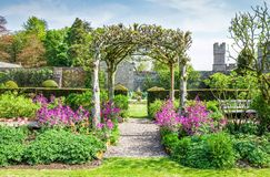 Gardens at Hutton in the Forest, Cumbria, England Stock Photo