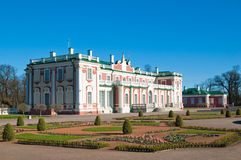 Gardens of Kadriorg Palace  in Tallinn Stock Images