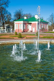 Gardens of Kadriorg Palace  in Tallinn Royalty Free Stock Photography