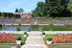 Gardens of Kensington palace Royalty Free Stock Photography
