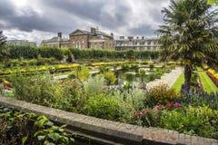 Gardens of Kensington Palace, London, England Stock Photos