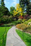 Gardens landscaping Royalty Free Stock Photo