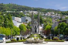 Gardens of Largo Republica Stock Image