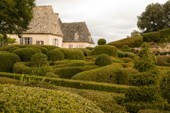 Gardens of Le Jardin Marqueyssac Royalty Free Stock Photos