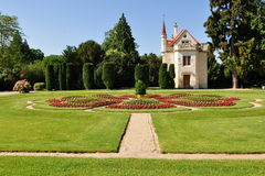 Gardens of Lednice castle Royalty Free Stock Photos