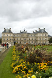 Gardens of luxembourg Stock Image