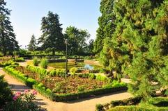 Gardens of Massandra Palace, Yalta, Crimea Royalty Free Stock Photography