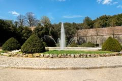 Gardens Medici Fortress Stock Photo