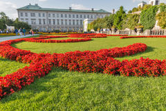 Gardens of Mirabell in Salzburg Old Town, Austria Royalty Free Stock Photography
