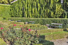 Gardens of Mirabell in Salzburg Old Town, Austria Royalty Free Stock Photos