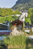 Gardens of Mirabell in Salzburg Old Town, Austria Stock Photography
