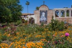 Gardens of Mission San Juan Capistrano Royalty Free Stock Photo
