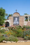Gardens of Mission San Juan Capistrano Royalty Free Stock Image