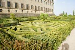 Gardens of Monastery royalty free stock photos