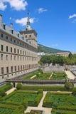 Gardens of the Monastery of El Escorial. Stock Photos