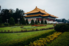 Gardens and the National Theater at Taiwan Democracy Memorial Pa stock photos