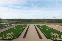 Free Gardens Of Chateau De Chambord Stock Photo - 109576160