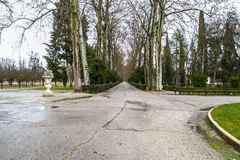 Gardens. Palace of Aranjuez, Madrid, Spain Stock Photos
