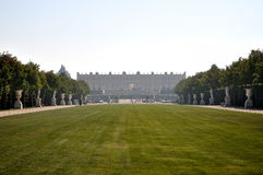 Gardens and Palace of Versaille. In France, Europe Royalty Free Stock Images