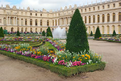 Gardens at Palace of Versailles Stock Image