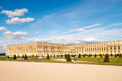 Gardens and Palace Versailles Stock Images