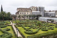 Gardens of Palazzo Barberini Royalty Free Stock Photos