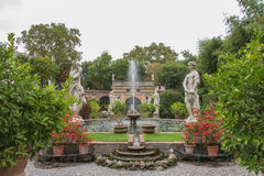 Gardens of Palazzo Pfanner, Lucca, Tuscany, Italy, Europe. Stock Photography