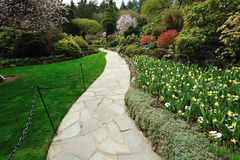Gardens path Stock Photo