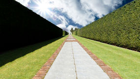 Gardens path concept Royalty Free Stock Images