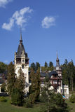 Gardens of peles castle Stock Photography