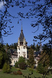 Gardens of peles castle Stock Photos
